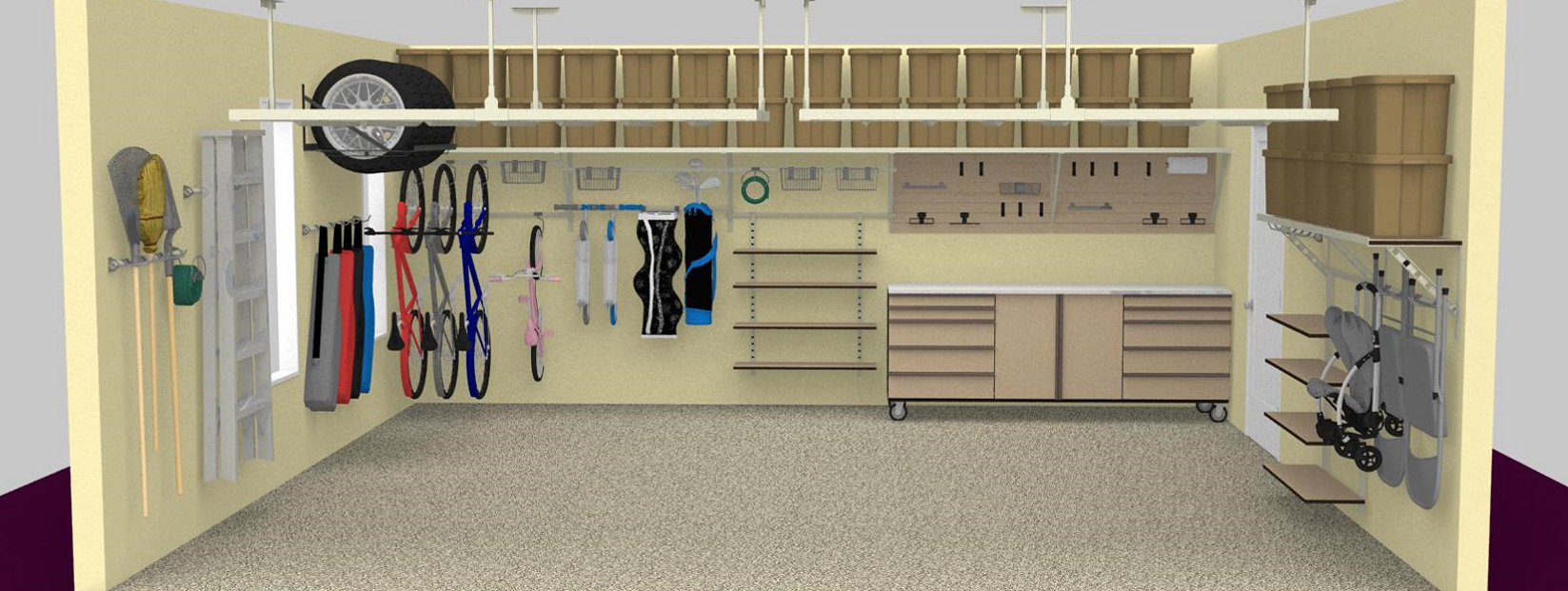 3D Garage Design Miami