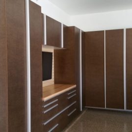 Garage Cabinets With Extruded Handles in Broward